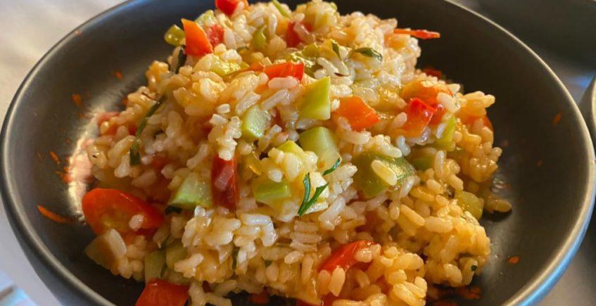arroz de verduritas de temporada