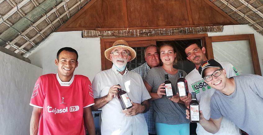Sancha Pérez crea dos vinagres aromatizados de vino ecológico