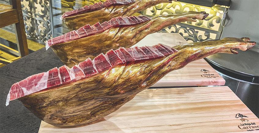 El jamón sobre jamón de los Hermanos Carrasco