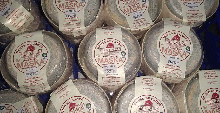 Puerto Carrillo crea Maska, un queso a medio camino de la torta extremeña