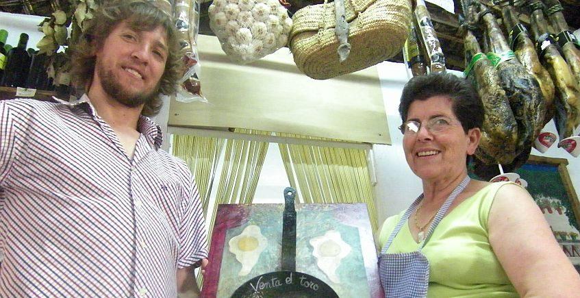 Maruja Gallardo, la dama de los huevos fritos con papas