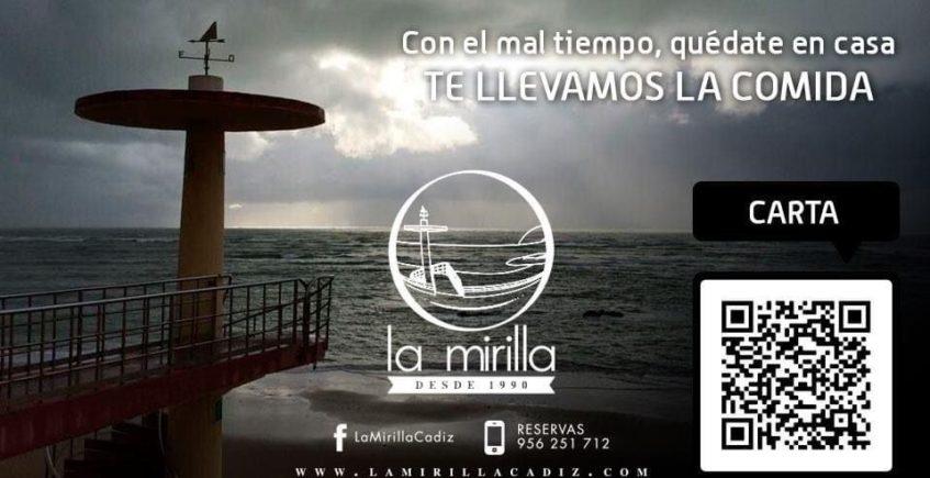 La Mirilla de Cádiz renueva su carta a domicilio