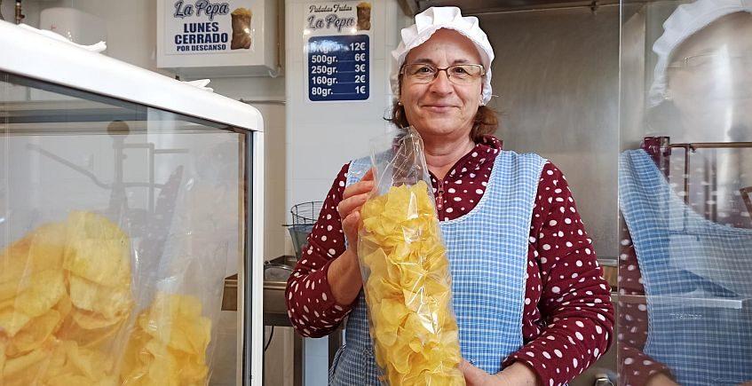 Las patatas de churrería vuelven al Mercado de San Fernando