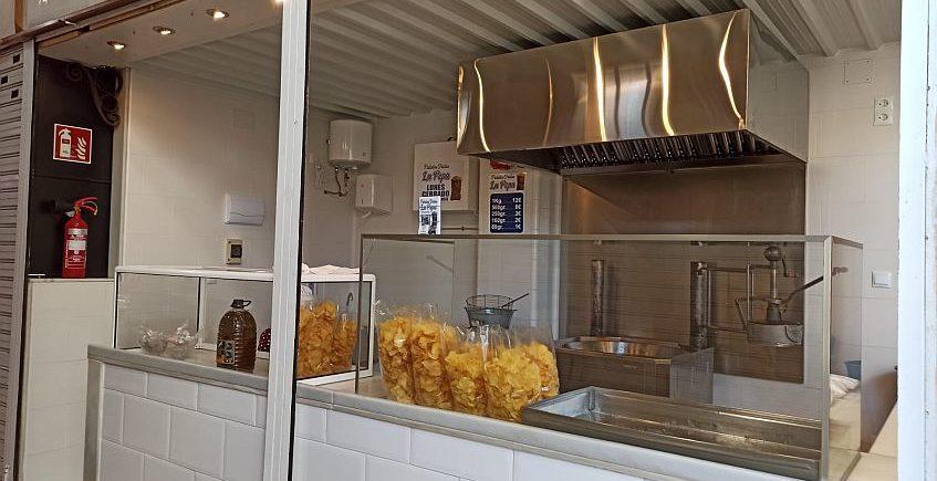 Patatas fritas La Pepa de San Fernando