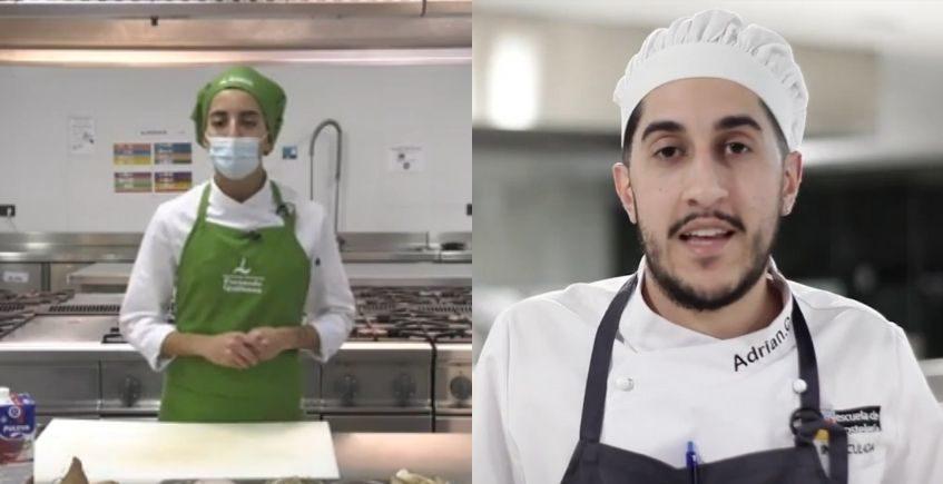 Los gaditanos Álvaro López y Adrián Calvente, finalistas de los Premios Promesas de la Alta cocina
