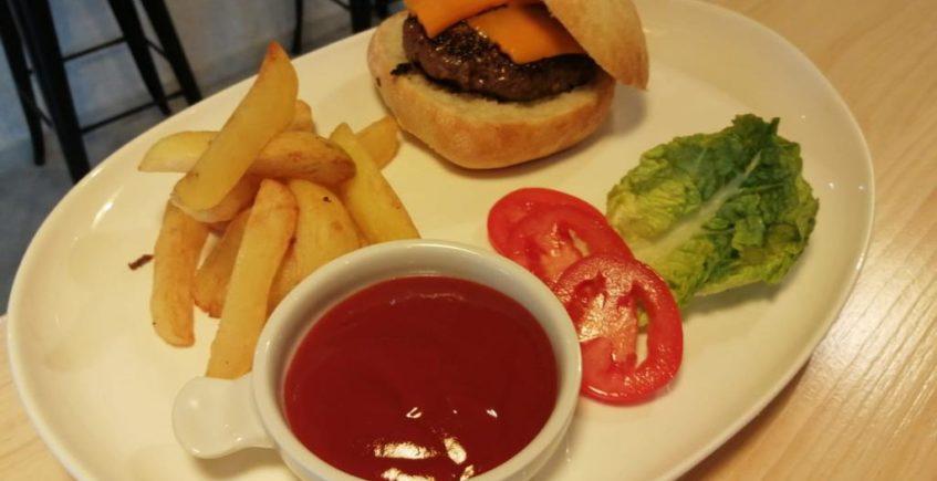 hamburguesa de vaca Simmental