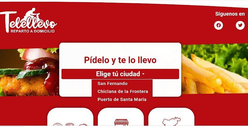 Telellevo amplía sus servicios de distribución a domicilio a La Barrosa