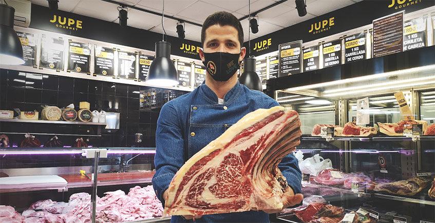 La firma Jupe abre una carnicería gourmet en Jerez