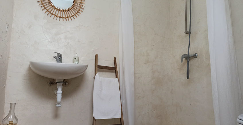 Yurta cuarto de baño