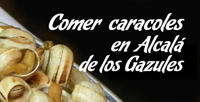 Comer caracoles en Alcalá de los Gazules
