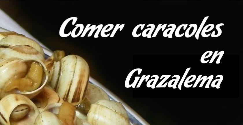 Comer caracoles en Grazalema