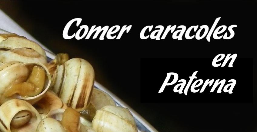Comer caracoles en Paterna