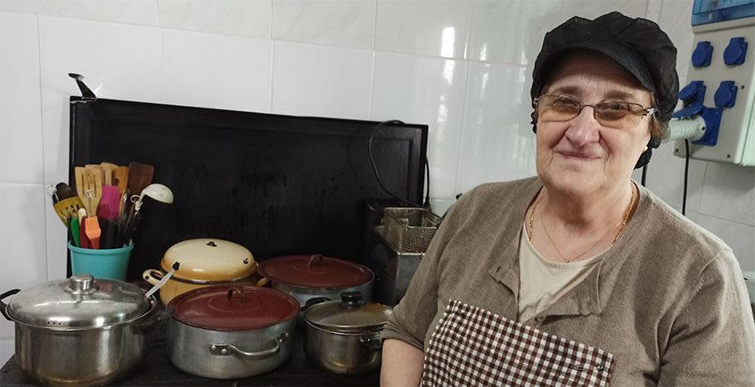 Cocinera creativa a los 71 años