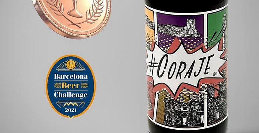 Premio para Coraje, la cerveza hecha durante el confinamiento en Chiclana