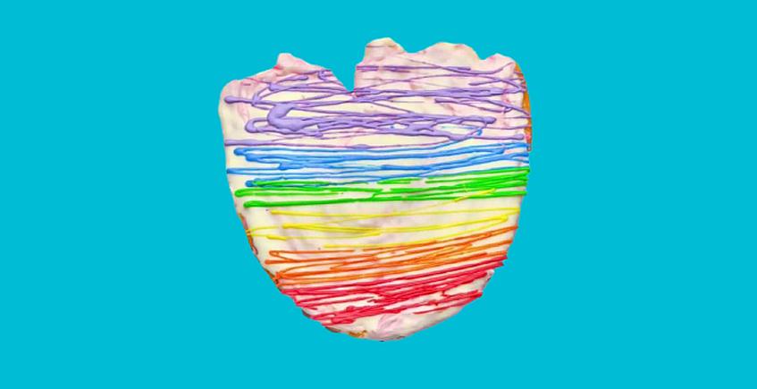 Una palmera Arco Iris para celebrar el Orgullo LGTBI en Puerto Real
