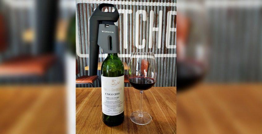Salicornia empieza a copear vinos como el Vega Sicilia