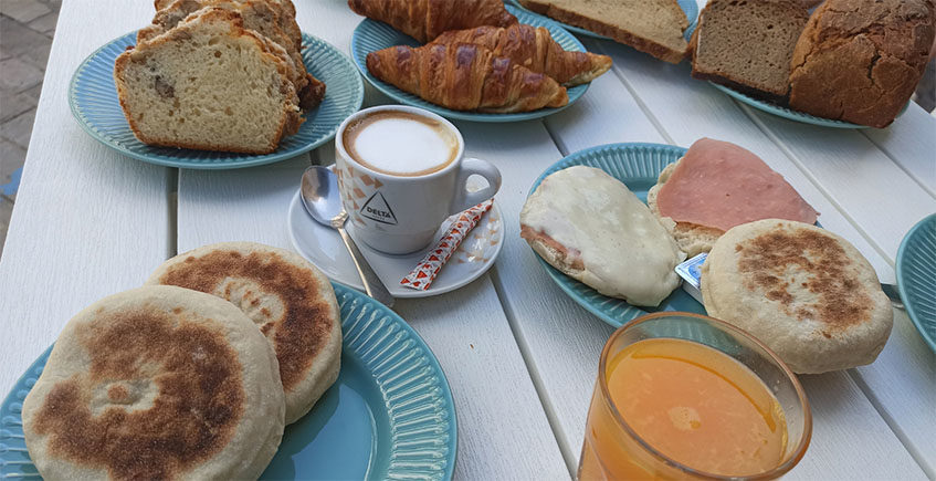 Desayuno en colores