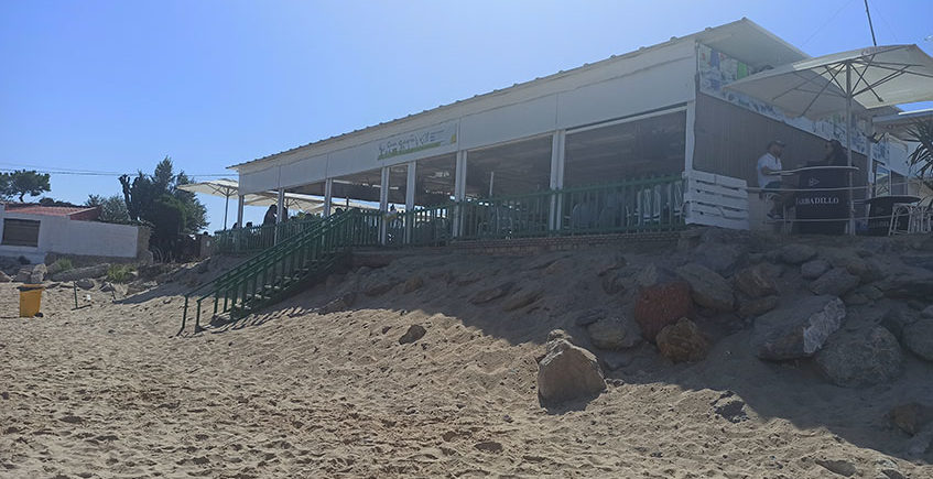 Vista desde playa