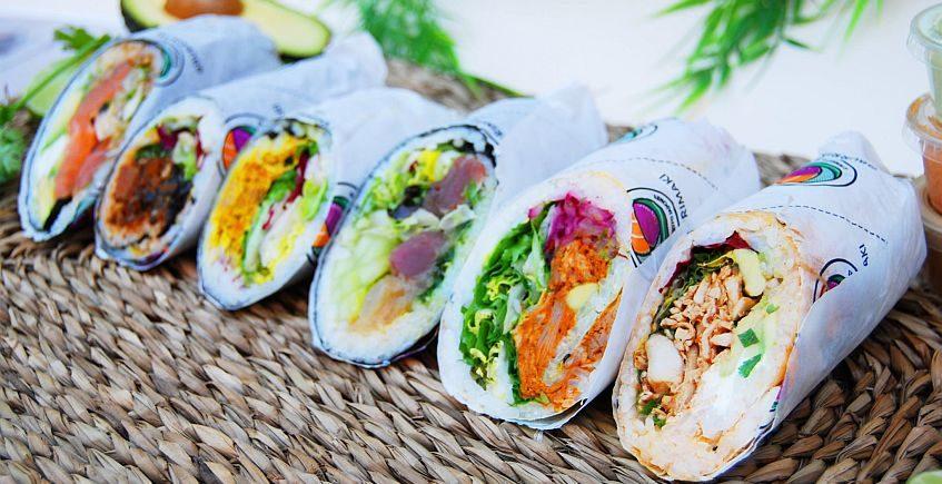 El sushi con corazón de burrito nacido en Conil