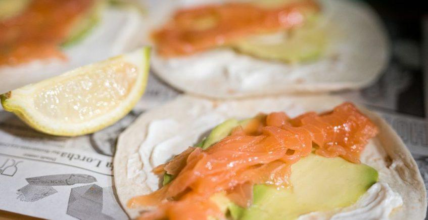 taco de salmon