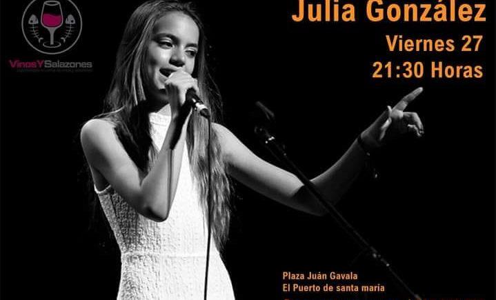 concierto julia gonzález