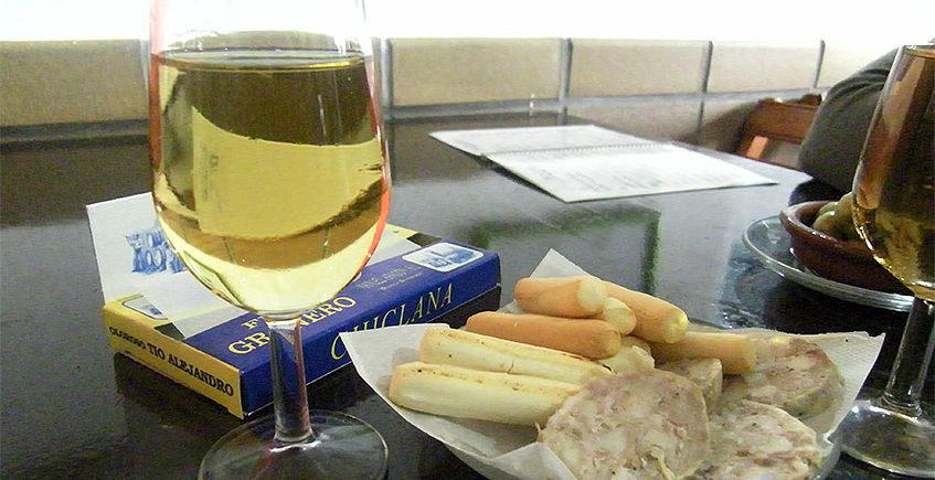 Moscatel y butifarra