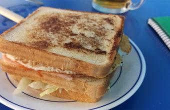 El sandwich de pollo de la hamburguesería Brigthon