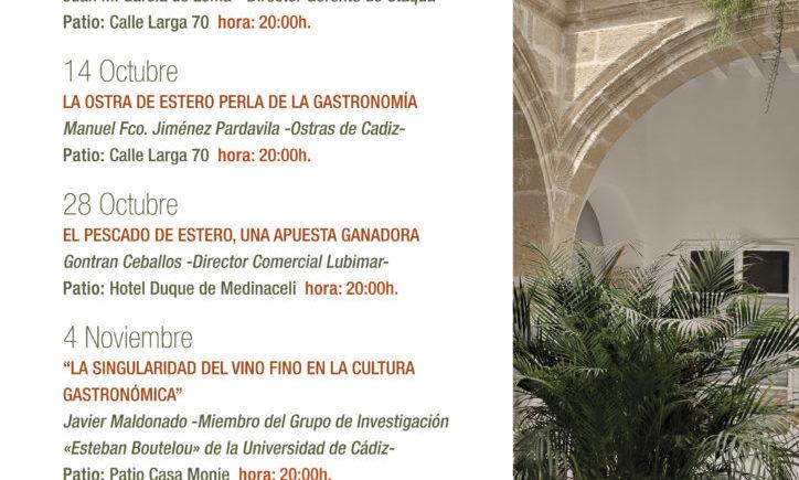 JORNADAS ESTERO Y SAL 2021 - CARTEL CICLO CONFERENCIAS
